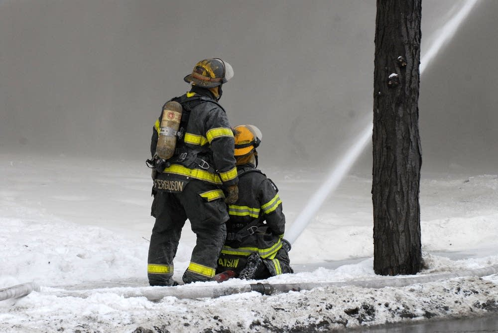 Minneapolis firefighters