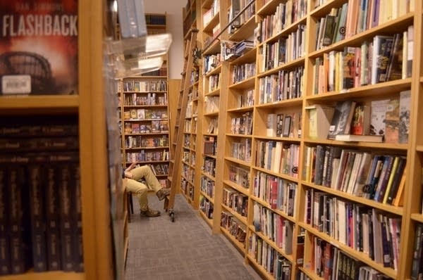 Magers & Quinn holds over 90,000 books
