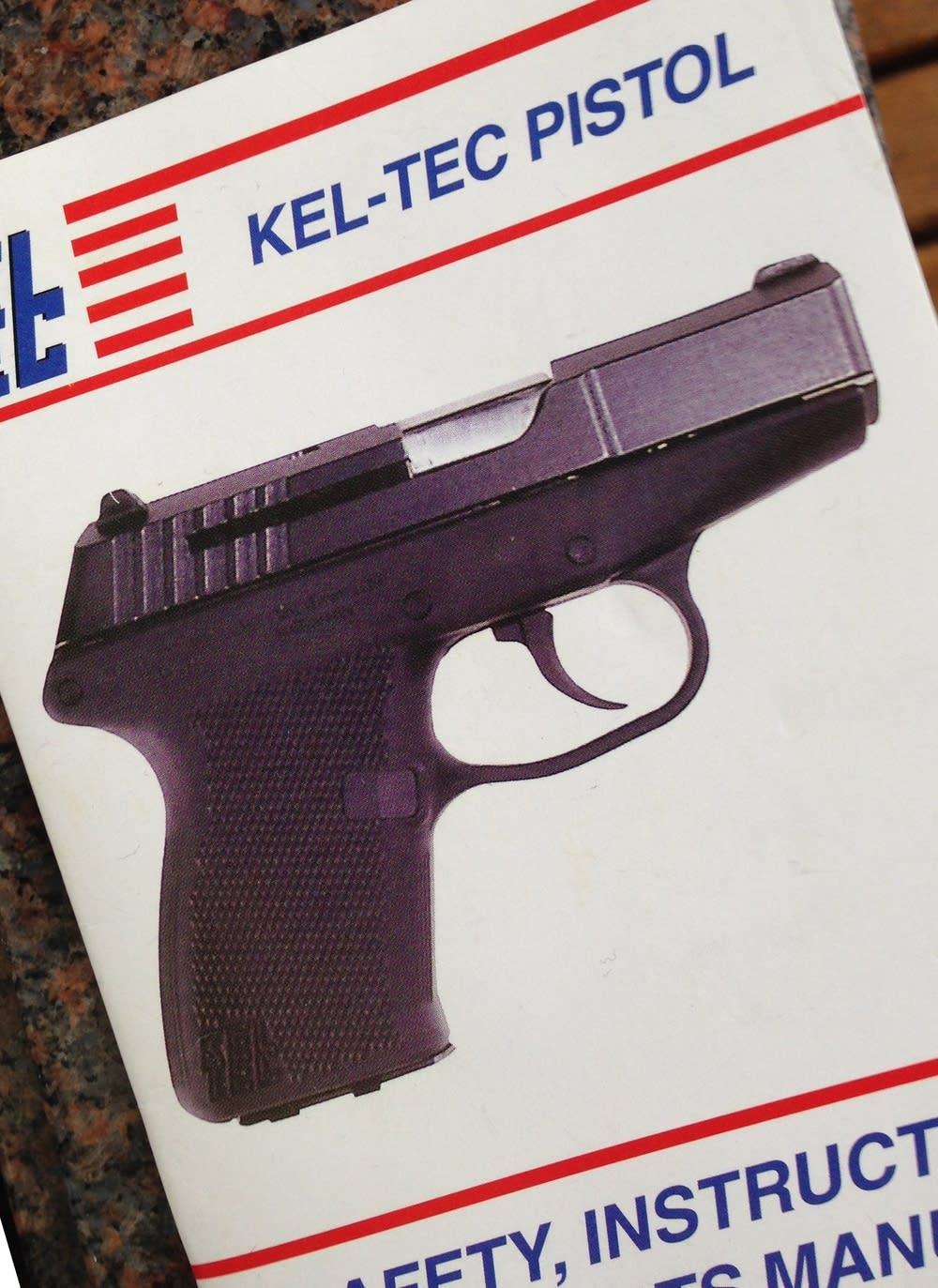 Kel-tec pistol manual