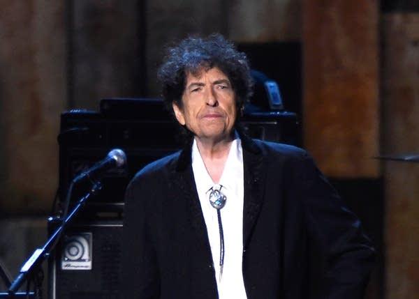 Bob Dylan at MusiCares 2015
