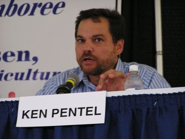 Green Party candidate Ken Pentel