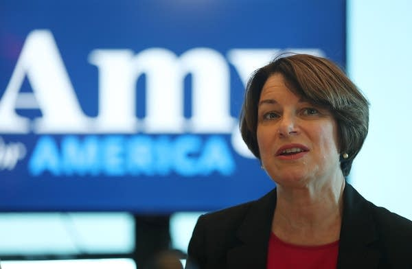 U.S. Sen. Amy Klobuchar holds a health care roundtable.