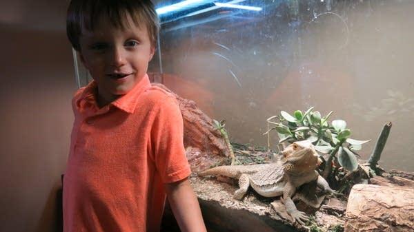 Chris Ingraham's son Charlie has grown up in Red Lake Falls.