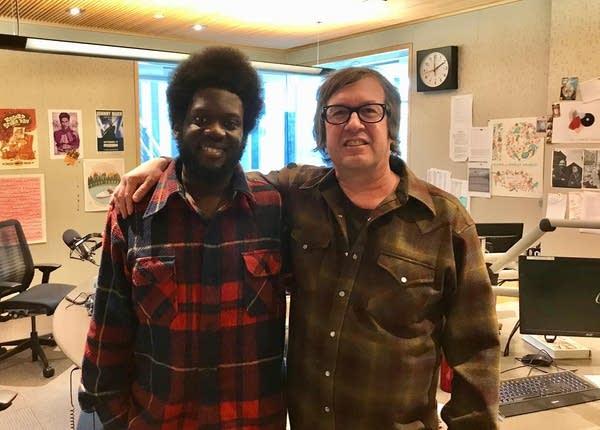 Michael Kiwanuka and Bill DeVille
