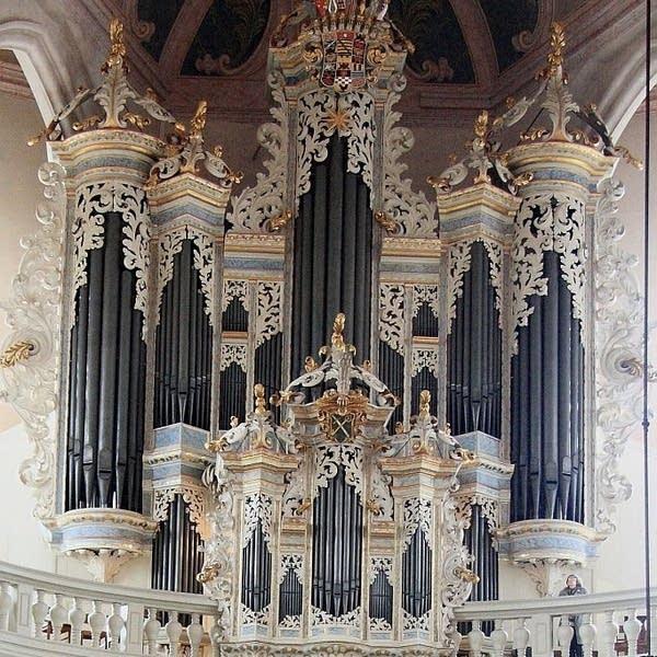 1746 Hildebrandt/St. Wenzel Church, Naumburg, Germany