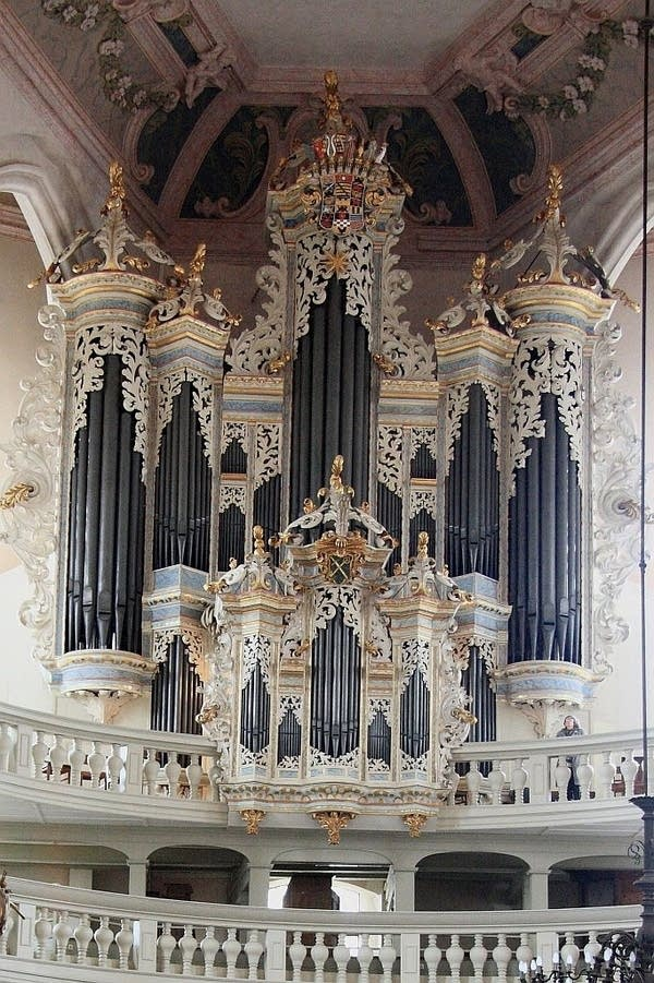 1746 Hildebrandt/St. Wenzel Church, Naumburg, Germany