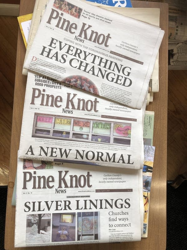 The Pine Knot News.
