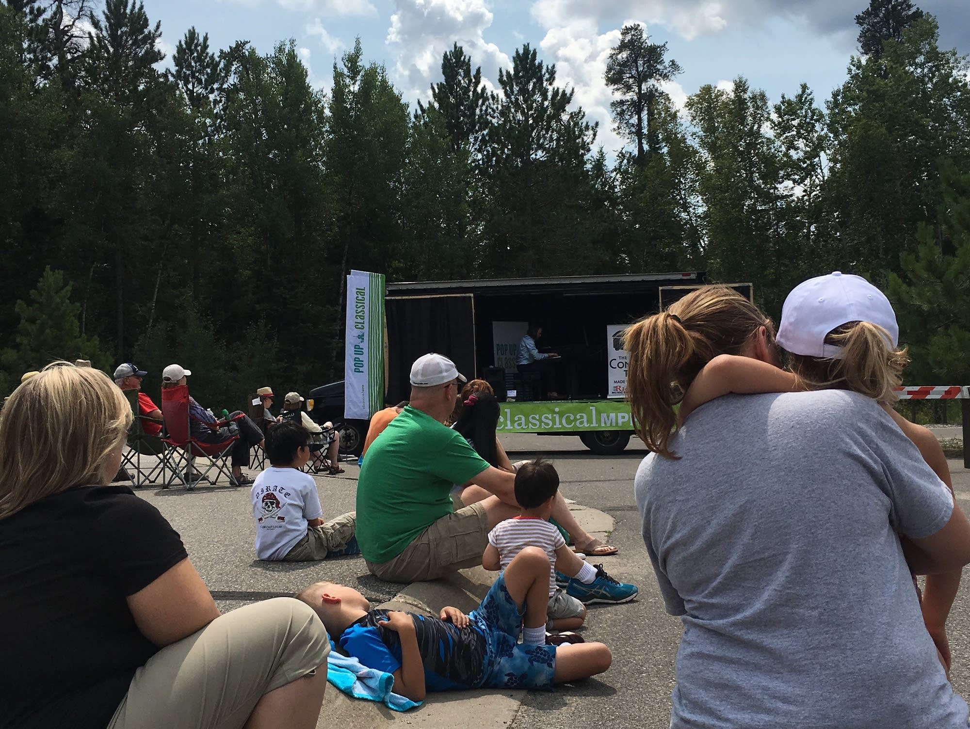 Pop Up Classical: The Concert Truck 2017 - Itasca State Park