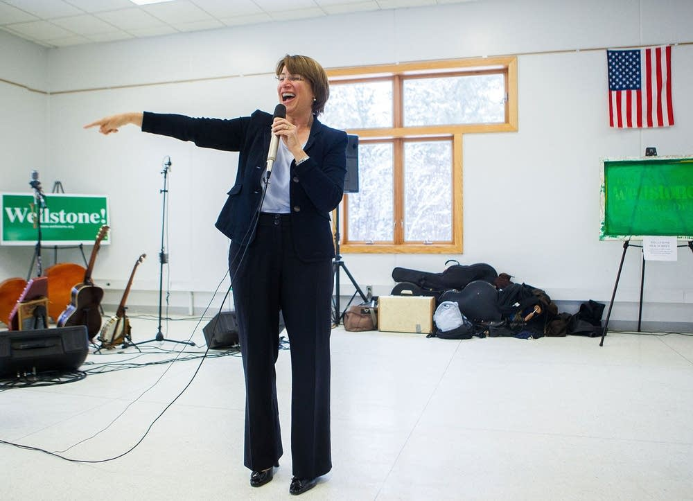 Sen. Klobuchar rememembers Wellstone