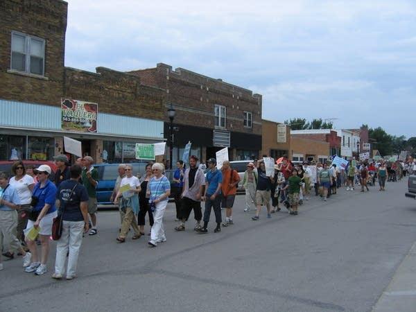 Postville march