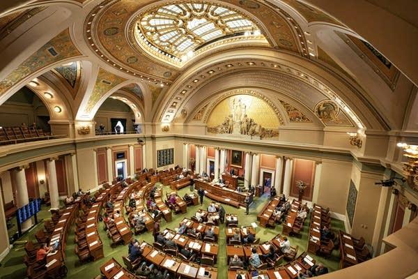 The Minnesota state House floor