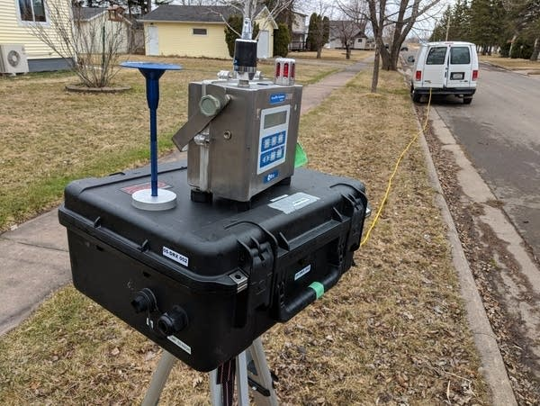 EPA air monitor in Superior, Wisc.