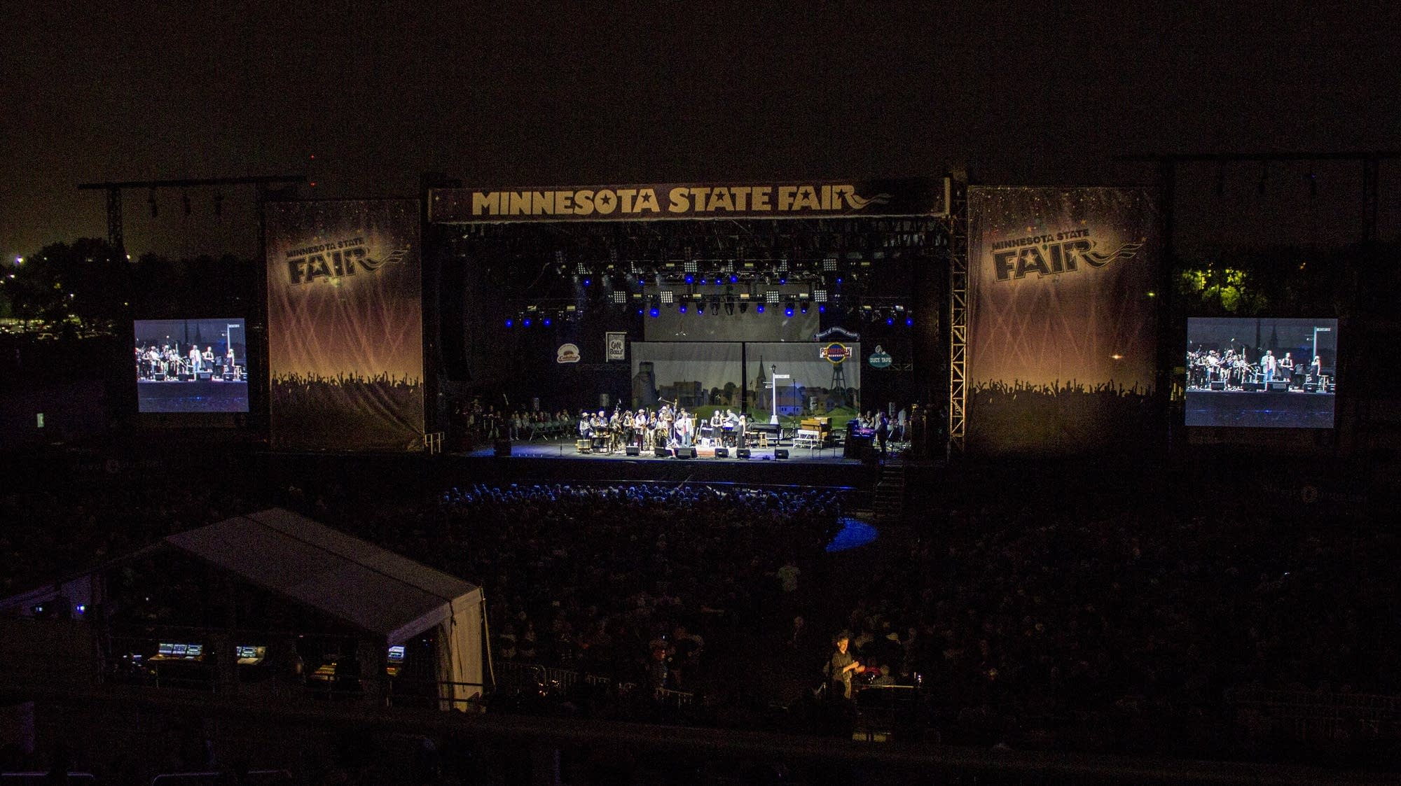 The Minnesota State Fair Grandstand
