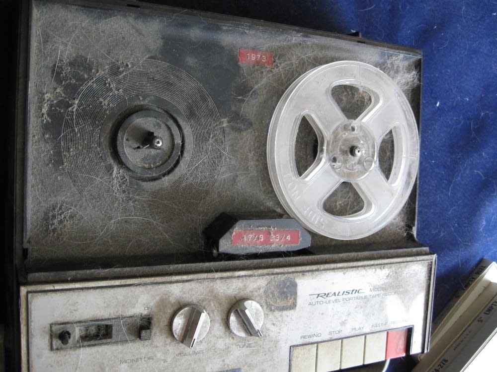 Russell Jones's tape recorder