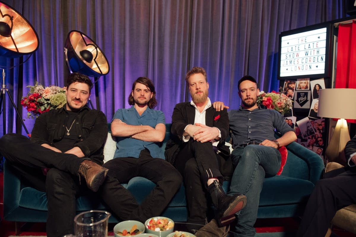 Mumford and Sons on 'The Late Late Show with James Corden'