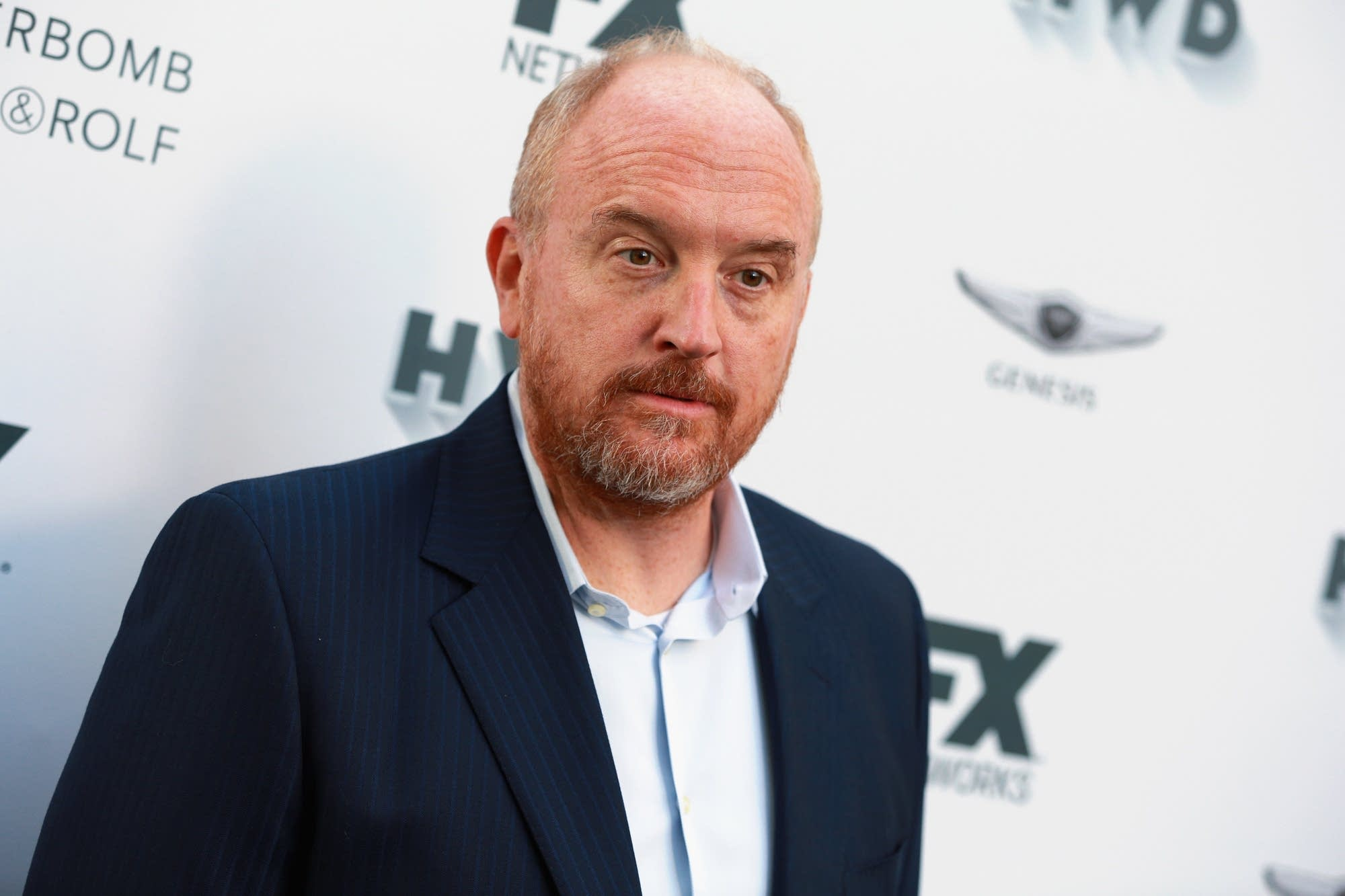 Louis C.K. attends FX and Vanity Fair Emmy Celebration
