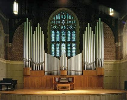 1965 Wicks organ at Ligon Chapel, Huntingdon College, Montgomery, AL
