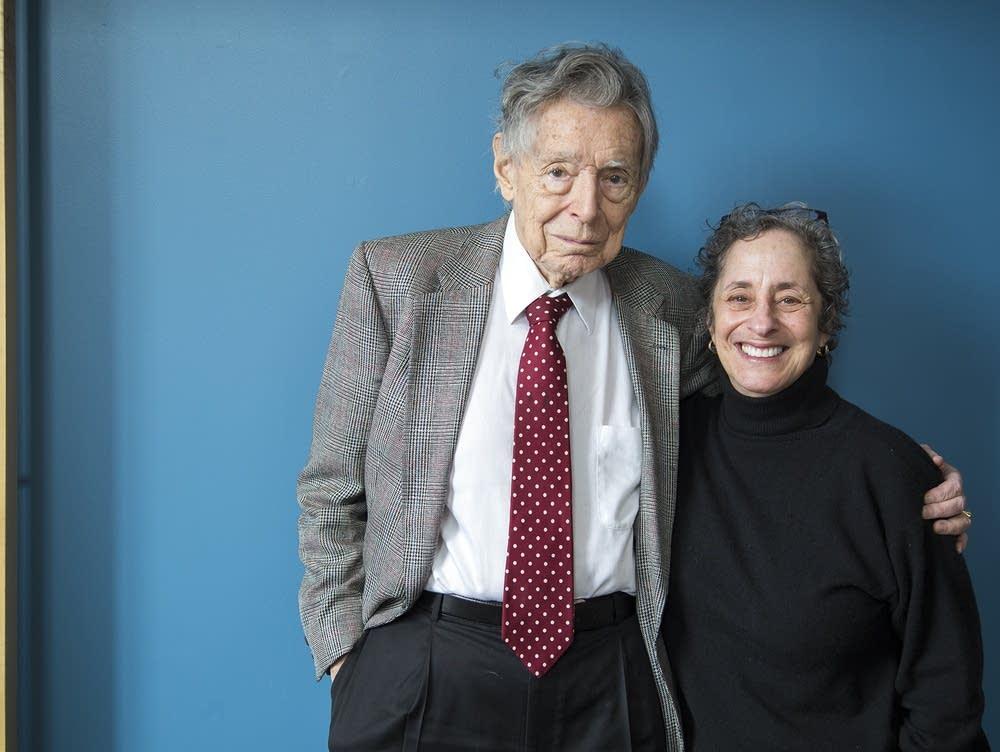 Robert Fisch and host Mindy Ratner