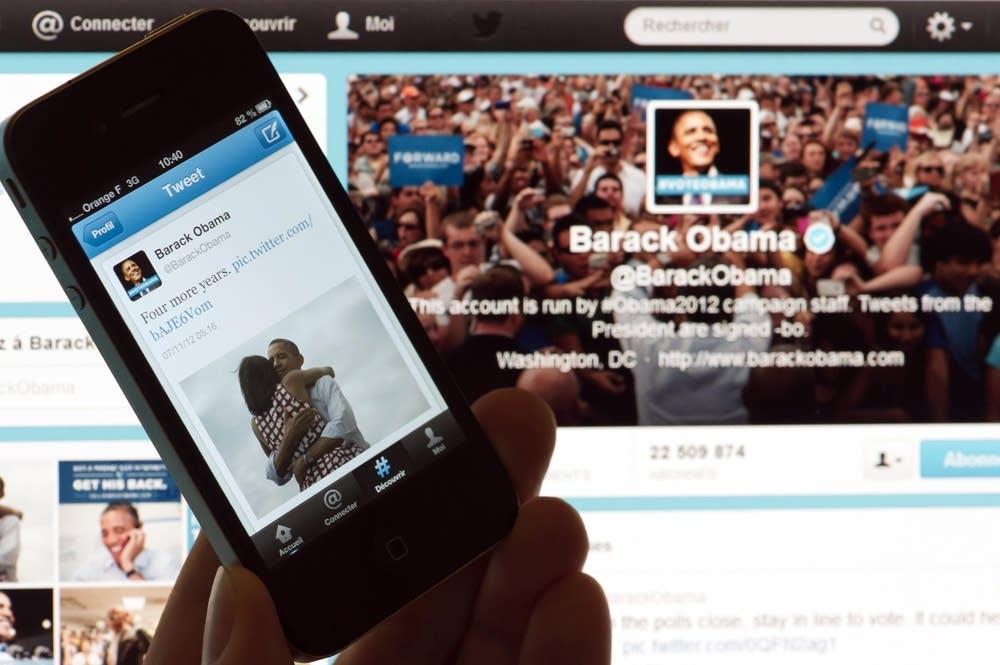 Obama's social media