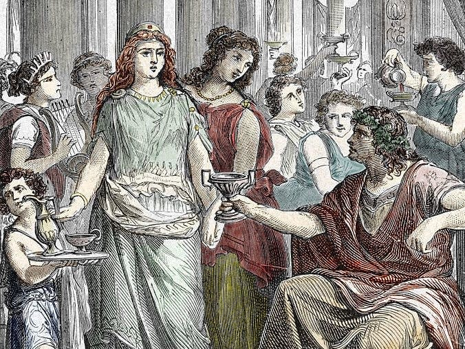 An engraving shows Galla Placidia (390-450).