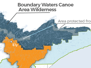 A ban on mining has been lifted around the BWCAW