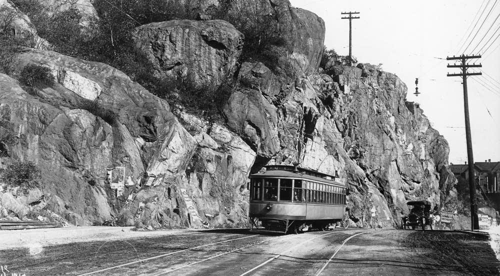 Point of Rocks streetcar detour