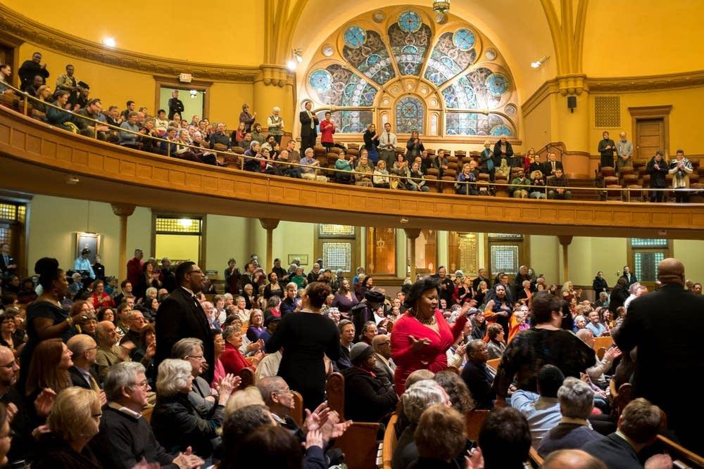 American Spiritual Ensemble Audience