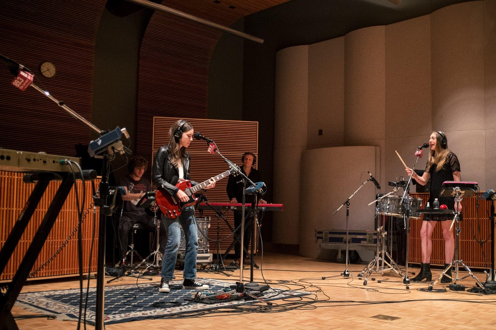 haim in studio 9