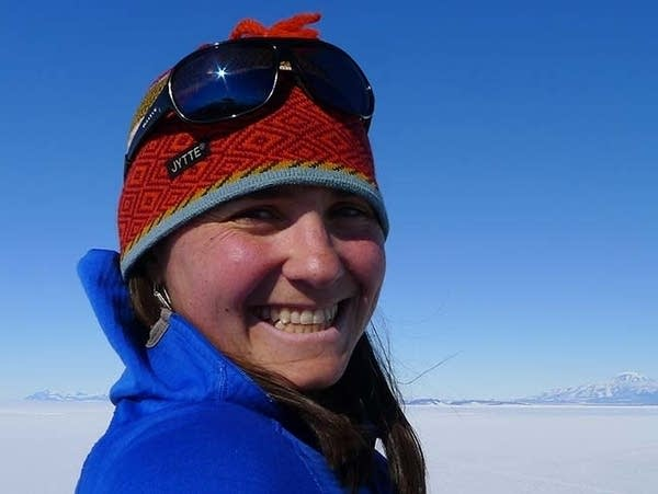 U of M climate science professor Heidi Roop