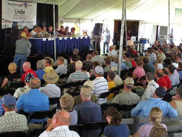 Farmfest debate