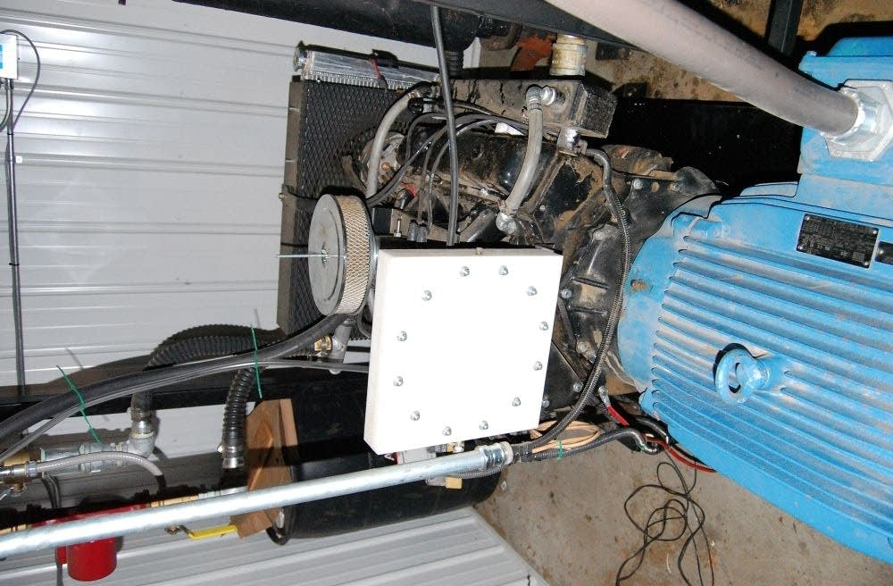 Methane powered engine