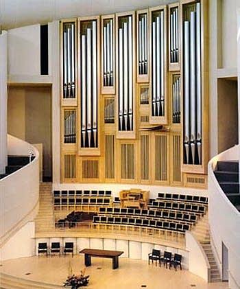 1993 Casavant Frères organ at the Community of Christ Temple,...