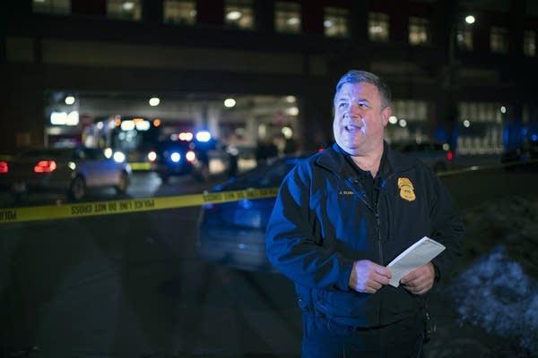 Minneapolis police spokesperson John Elder