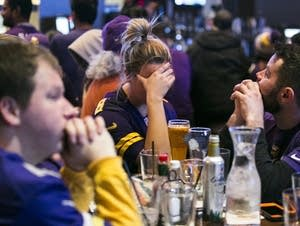 Vikings fans sulk
