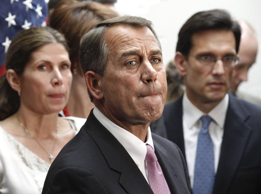 John Boehner,  Eric Cantor, Mary Bono Mack