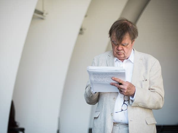 At age 75, Garrison Keillor isn't slowing down.