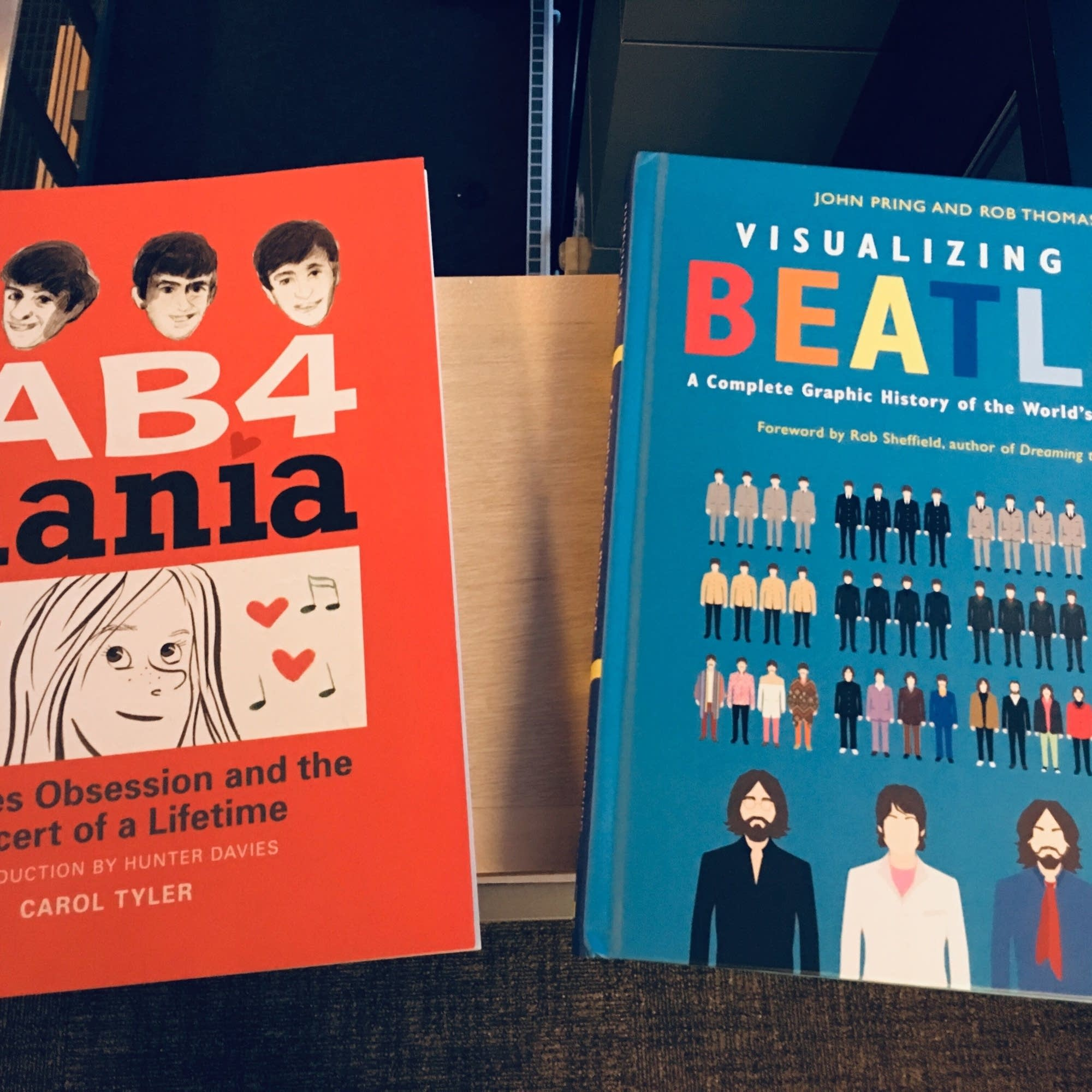 'Fab 4 Mania' and 'Visualizing the Beatles.'