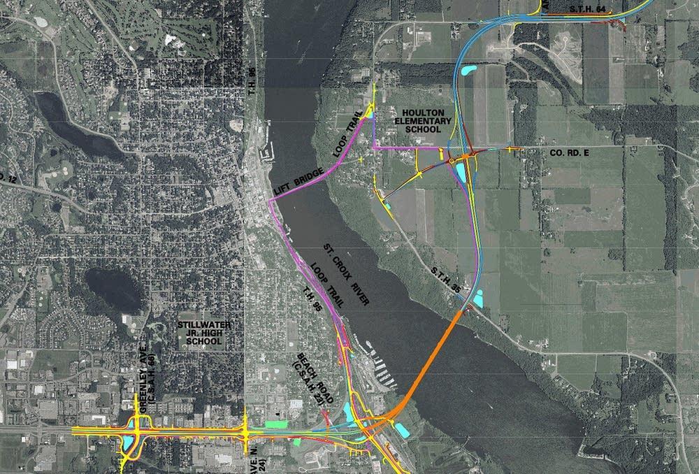 Proposed bridge map