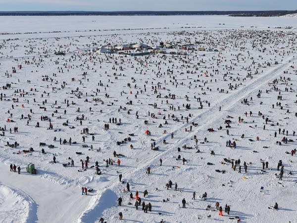 Photos: Thousands compete in Brainerd's annual ice fishing