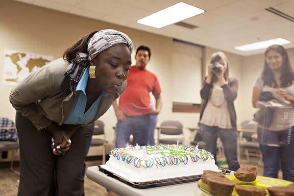 Frischmon birthday celebration
