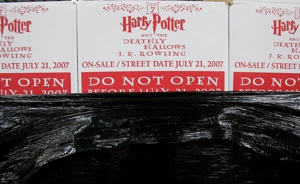 Harry Potter book ready for shipping