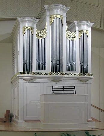1800 Tannenberg organ at the Old Salem Museum Center, Salem, NC
