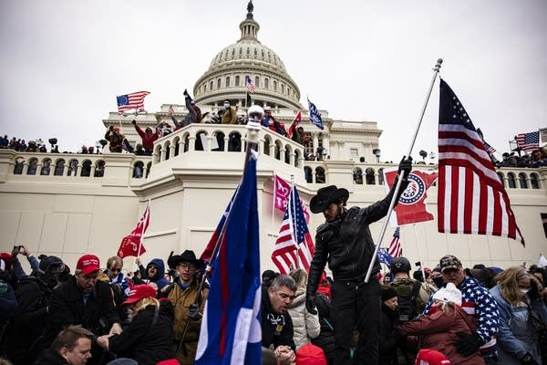 Mob breaches U.S. Capitol.