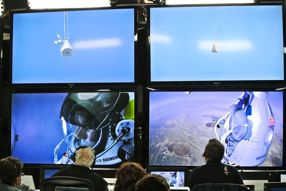 Skydiving mission control