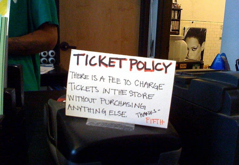 Ticket policy