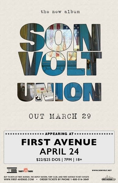 Son Volt First Avenue Poster