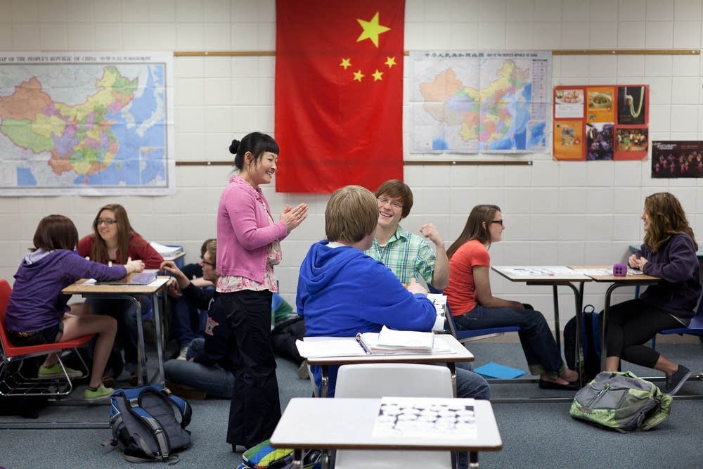 Willmar High School Chinese language program