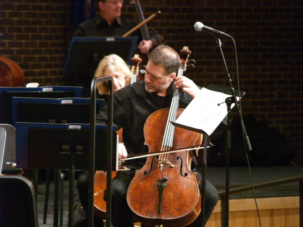 Minnesota Orchestra cellist Tony Ross