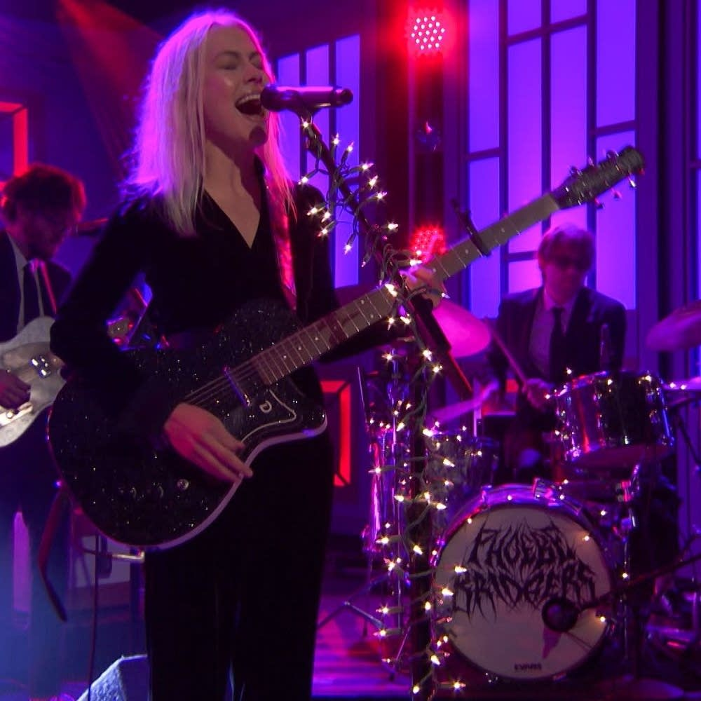Phoebe Bridgers performs on 'Conan'