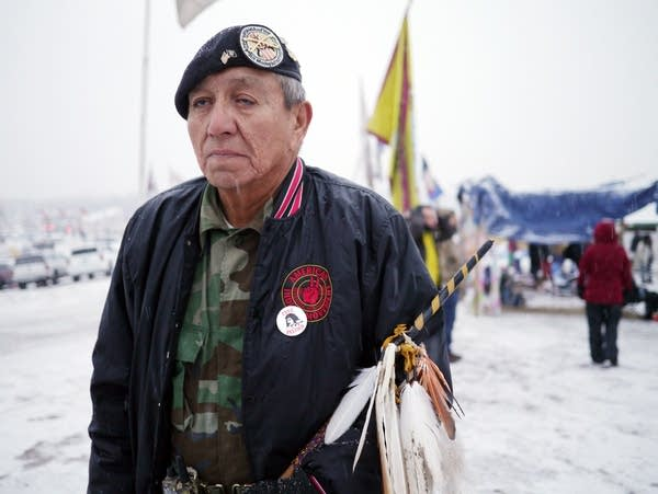 Terry Martinez, a tribal spiritual leader